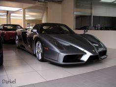 Grey Ferrari Enzo