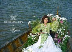 Zaheer Abbas Lawn Prints 2013 by Shariq Textiles