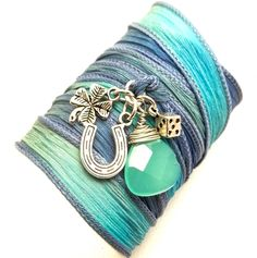 jewelry design | modern handmade charm bracelets by Charmed Jewelry Design