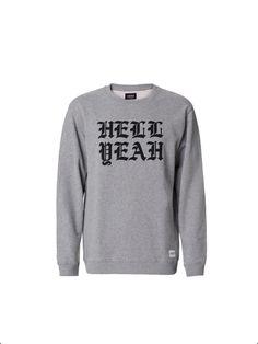 A Question Of - Organic Cotton Hell Yeah Sweatshirt