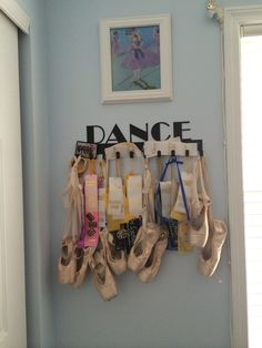 Dance medal display by SportHooks. Hang it up !