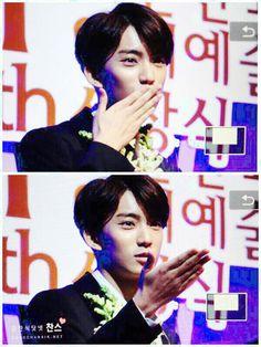150117 Korean Ent. Arts Awards. <tampak depan>