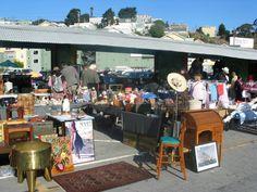 Friday Five: Best Bay Area Flea Markets Thrift Store Furniture, Refurbished Furniture, Repurposed Furniture, Furniture Refinishing, Furniture Redo, Antique Fairs, Antique Show, Antique Market, Flea Market Finds