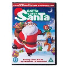 Join the race to save Christmas in GOTTA CATCH SANTA, the jolly, modern-day holiday classic destined to become a family favourite!  Starring William Shatner as the voice of Santa.