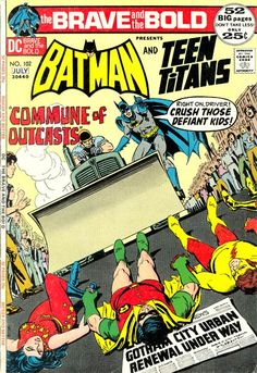 Nick Cardy cover of  The Brave and the Bold.