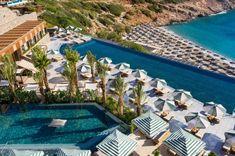 Luxusresort auf Kreta: Saisonstart im Daios Cove - The Chill Report Yoga, Best Hotels, Chill, Blues, Europe, Photo And Video, Luxury, Outdoor Decor, Layers