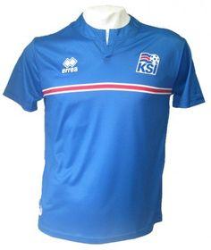 e732aae244b Icelandic national football Jersey Shirt kit 2014 2015 / Have a Fun Flag  Wig !