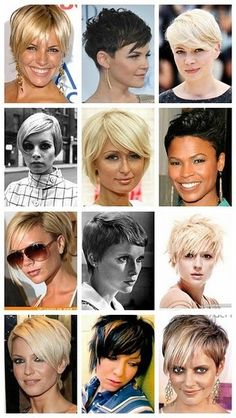 short hair cuts | Pinterest Most Wanted - my current favorite from this list is Paris Hilton's cut.