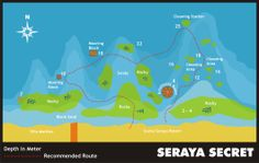 Seraya Secret, Bali - Dive Site Information - Indonesia Dive Directory Scuba Diving Bali, Rocky 3, Site Information, Black Sand