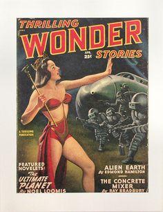 Thrilling Wonder Stories magazine.