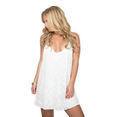 Girls Night Out Dress in White