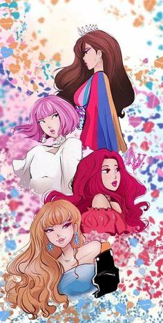 Blackpink in your area Kpop Anime, Chibi, Lisa Blackpink Wallpaper, Black Pink Kpop, Kpop Drawings, Blackpink Memes, Blackpink Photos, Blackpink Fashion, Fan Art