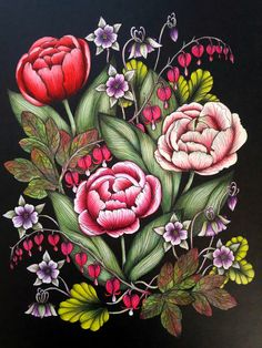 Blomstermandala Artist's version