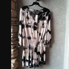 Young Fabulous and Broke Malik Romper YF&B tie dye black and while jumper/romper. Gently used. Worn 5 times. Delicate wash and hung to dry. Step into. Cotton. So comfy on. Elastic waist. Young Fabulous & Broke Other
