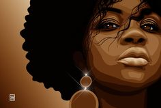 Pretty #afro #art