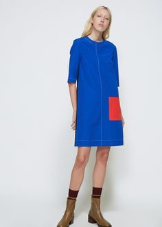 Totokaelo Pocket Dress - Marni - Designers - Womens