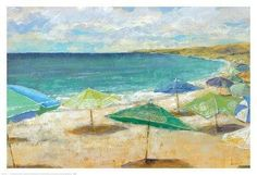 Sea of Shade by Michael Longo Painting Print on Wrapped Canvas