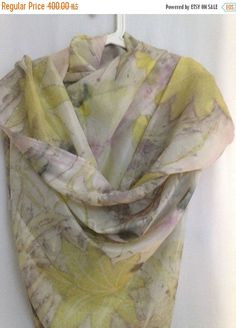 Yellow Scarf Eco Print Silk Scarf Scarves Yellow Women Scarf Botanical dye Scarves and Wraps Handmade Scarf Free Shipping Eco printed silk women's scarf gift for her scarves ank shawls silk scarf scarves and wraps Yello Scarf Pinc scarf handmade scarf Fashion accessories Scarves Yellow botanical dye long yellow scarf 360.00 ILS #goriani