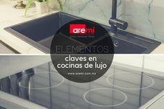 Elementos que no pueden faltar en una cocina de lujo #CocinasdeLujo #DiseñoDeCocinas Deco, Luxury Kitchen Design, Home, Decor, Deko, Decorating, Decoration