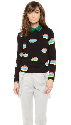 Chinti and Parker Cashmere Cloud Sweater (it looks cute with the plaid collar)