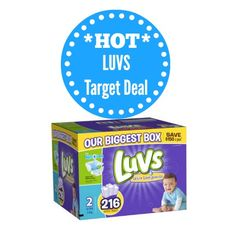 Target Luvs Diaper Stock-Up Deal! *SUPER-HOT*  Even if you don't have the $1 coupons - this deal is REALLY worth the trip - no coupons required!