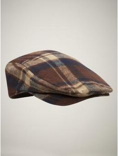 plaid hat.