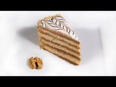 Eszterházy-torta (Szécsi Szilvi) - YouTube Hungarian Desserts, Food And Drink, Bread, Cookies, Youtube, Recipies, Crack Crackers, Brot, Biscuits
