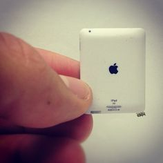 Giant hand or tiny iPad? - @santlov- #webstagram