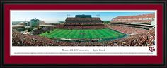 Texas A&M Aggies Panoramic - Kyle Field Picture $199.95