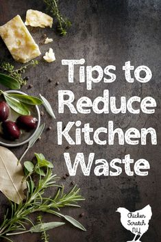 Save money and waste less with these practical tips. Cutting down on kitchen waste is easy with a little planning and a handful of helpful gadgets Reduce Waste, Zero Waste, Waste Reduction, Fun Cooking, Cooking Tips, Kitchen Waste, Kitchen Hacks, Kitchen Ideas