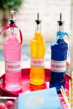 splash partysnow cone syrup