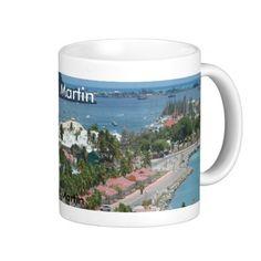 Sold , 4 St. Martin and Marigot Bay Photo Coffee Mugs (NY) thank you!