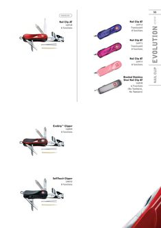 Wenger Swiss Army Knife Catalog Page 2009 - 2010 Wenger Swiss Army Knife, Catalog, Brochures