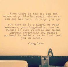 Lullabies ~ Lang Leav