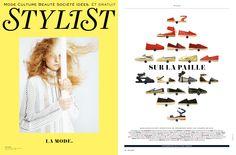 Nos espadrilles dans le magazine @stylistfrance en fevrier 2015 #fashionmagazine #look #style
