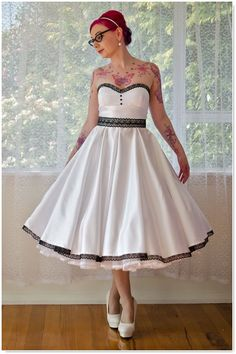 robe de mariée on Pinterest  Robes, Rockabilly and Robe Vintage