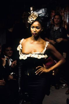 John Galliano Spring 1995 Ready-to-Wear Fashion Show - Debbie Deitering
