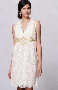 Lonoke Lace Dress- Anthropologie