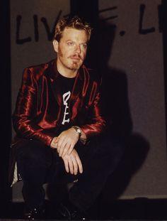 Red hair, red jacket Eddie