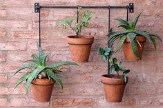 Balcony Plants, House Plants Decor, Plant Decor, Garden Planter Boxes, Hanging Planters, Indoor Flower Pots, Wrought Iron Decor, Metal Plant Stand, Plant Shelves