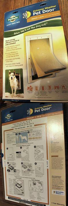 Doors And Flaps 116379 Power Pet Electronic Automatic Motorized Dog