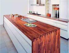 Küchenplatte holz  Küchen Arbeitsplatten holz teller idee | Tank | Pinterest ...