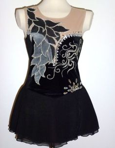 It is beautiful and incredibly sparkling. Baton Twirling Costumes, Dance Costumes, Twirling Baton, Ice Dresses, Ice Skating Dresses, Latin Dresses, Figure Skating Costumes, Skate Wear, Custom Made
