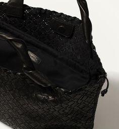 Plaited Shopper Bag by Massimo Dutti