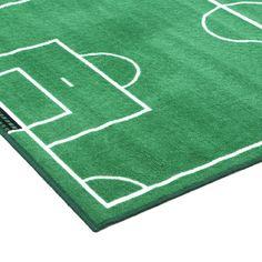 Fun Rugs Fun Time Soccer Field Sports Area Rug & Reviews | Wayfair