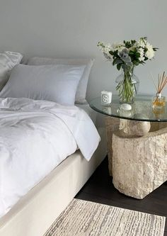 Dream Rooms, Dream Bedroom, Peaceful Bedroom, Comfy Bedroom, Room Ideas Bedroom, Bedroom Decor, Decor Room, Bedroom Inspo, Bedroom Furniture