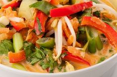 Vegetable laksa  #NewZealand #vegetable #recipes