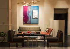 Eclectic elegance decor, charlespollack interiors | ... , Lawson Fenning table, De La Espada and Charles Pollack chairs