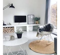Interieur inspiratie | 15x stijlvolle zwart wit woonkamer ...