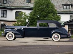 1941 Packard 180 Custom Super Eight All-Weather Town Car by Rollston (1908-795) '09.1940–41
